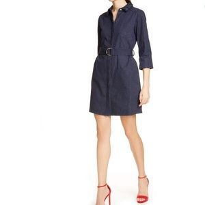 🆕 Ted Baker Salat Denim Shirtdress Dress